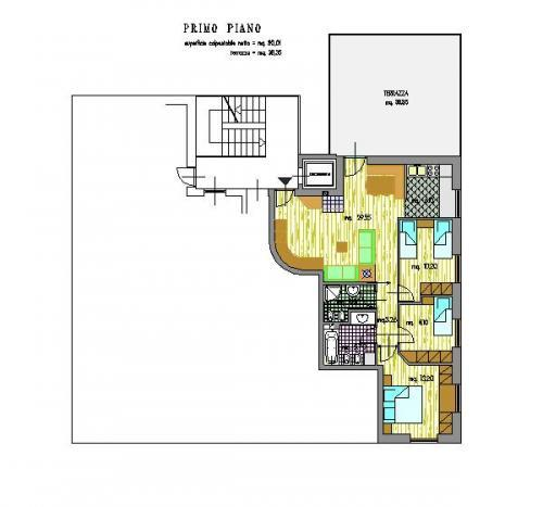 Prà del Gal Cavalese centro - appartamento al primo piano